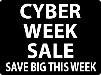 Click here to shop Cyber Week Sale!